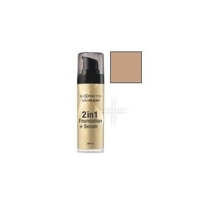 THREE PACKS of Max Factor Ageless Elixir 2in1 Foundation + Serum 75 Golden by Max Factor