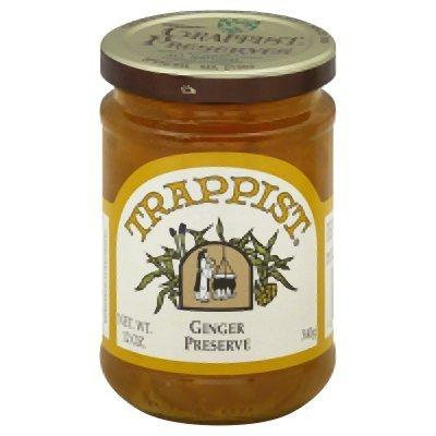 Trappist Preserve Preserves Ginger Marm 12-Ounce -Pack of 6