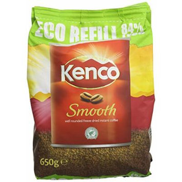 Kenco 650g Smooth Instant Coffee Refill Bag