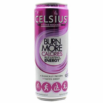 Celsius Celsius Sparkling Wild Berry 12 - 12 fl oz (355mL) Cans