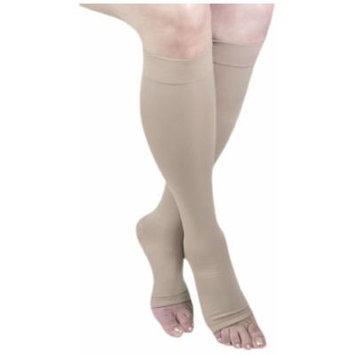 ITA-MED I H-304(O)(3) XXL B Microfiber Knee Highs, Beige, XX-Large