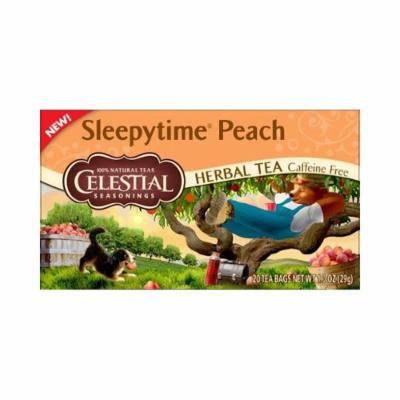 Celestial Seasonings® Sleepytime® Peach Herbal Tea Caffeine Free
