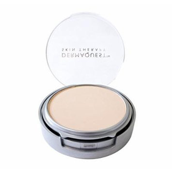 DermaMinerals by DermaQuest Buildable Coverage Pressed Mineral Powder Facial Foundation SPF 15 - 1W, 9.1g / 0.32 oz