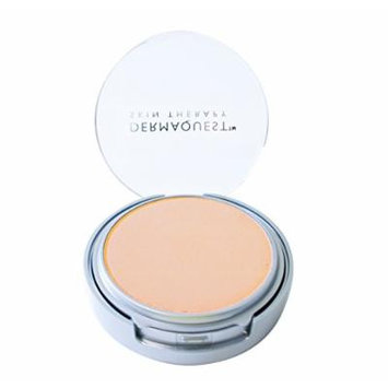 DermaMinerals by DermaQuest Buildable Coverage Pressed Mineral Powder Facial Foundation SPF 15 - 2C, 9.1g / 0.32 oz