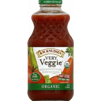 Knudsen Juice, Very Veggie Organic 32 fl.oz (Pack of 6)