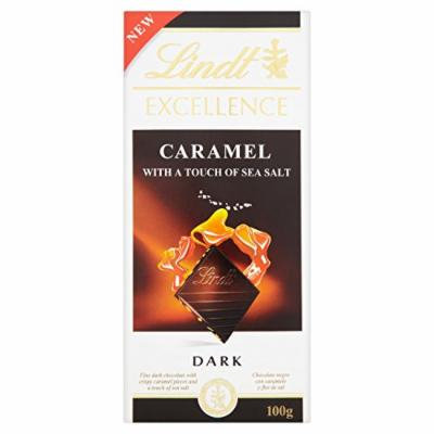 Lindt - Excellence - Dark Caramel with a Touch of Sea Salt - 100g