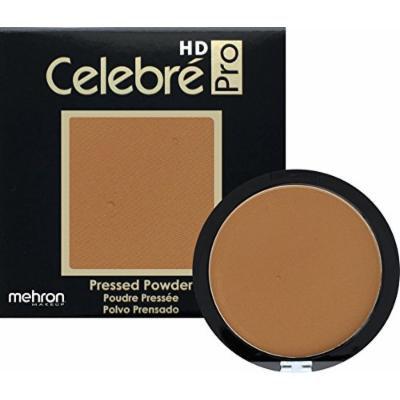 Mehron Makeup Celebre Pro-HD Pressed Powder Face & Body Makeup (.35 oz) (DARK 1)