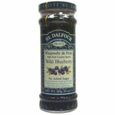 (2 Pack) - St Dalfour - Blueberry Fruit Spread | 284g | 2 PACK BUNDLE