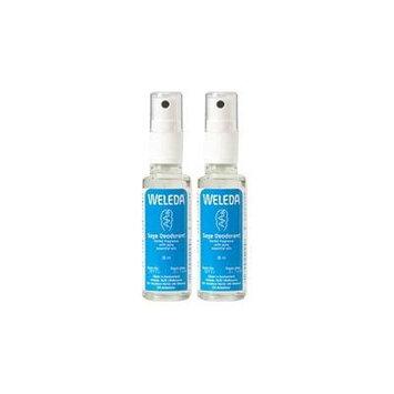 (2 Pack) - Weleda - Sage Deodorant WEL-4045 | 30ml | 2 PACK BUNDLE