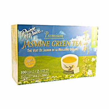 Prince of Peace Premium Jasmine Green Tea - 100 Tea Bags (Pack of 3)