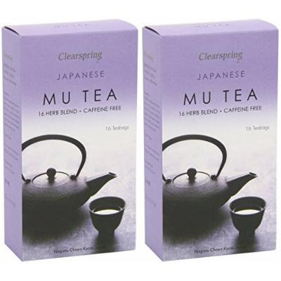 (2 Pack) - Clearspring - Mu Tea Box | 16 Bag | 2 PACK BUNDLE