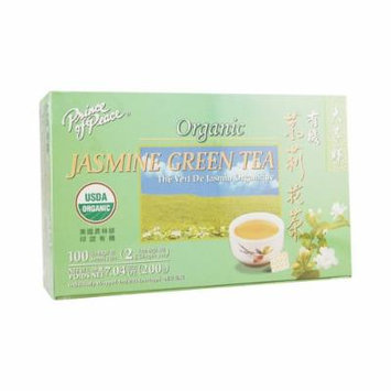 Prince Of Peace Organic Green Tea Jasmine - 100 Tea Bags
