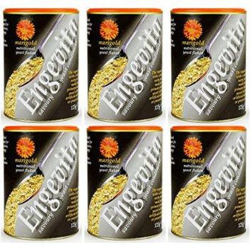 (6 PACK) - Marigold - Engevita Yeast Flakes | 125g | 6 PACK BUNDLE