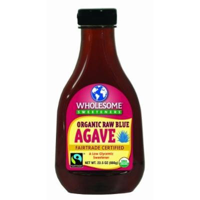 Organic Raw Blue Agave 23.5oz (666g) by wholesome