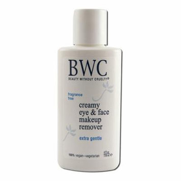 2 Packs of Beauty Without Cruelty Eye Make Up Remover Creamy - 4 Fl Oz