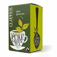 (4 PACK) - Clipper - Fairtrade Pure Green Tea | 50 Bag | 4 PACK BUNDLE