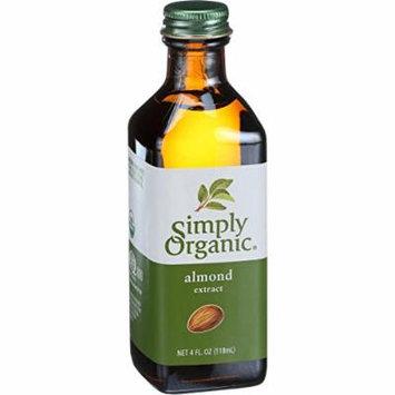 Simply Organic Almond Extract - Organic - 4 oz - 95%+ Organic -