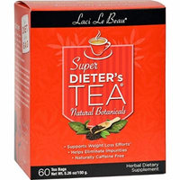 Laci Le Beau Super Dieter s Tea All Natural Botanicals - 60 Tea Bags