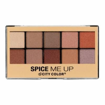 (3 Pack) CITY COLOR Spice Me Up Palette - 10 Shades