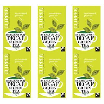 (6 PACK) - Clipper - Decaf Green Tea | 25 Bag | 6 PACK BUNDLE