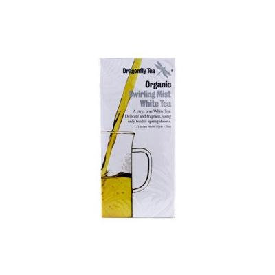 (10 PACK) - Dragonfly Tea - Org Swirling Mist White Tea   20 sachet   10 PACK BUNDLE