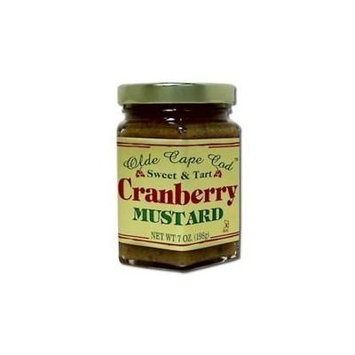 Olde Cape Cod Mustard Cranbrry, 7 ounce -- 12 per case by