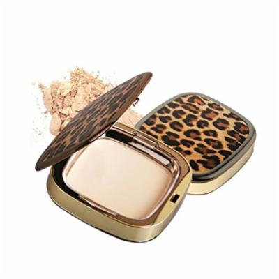 [Hope Girl] Sleek & Satin Powder Pact 13g ledpard case (#23 Natural Beige)