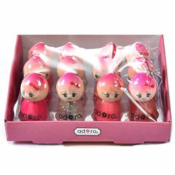 Adoro Princess Party 12 Pcs Dolly Nail Polish Set