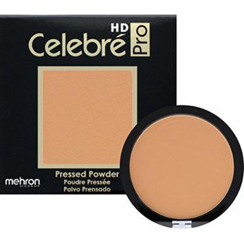 Mehron Makeup Celebre Pro-HD Pressed Powder Face & Body Makeup (.35 oz) (MEDIUM 3)