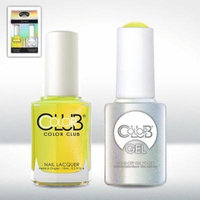 Color Club Gel NOT-SO-MELLOW-YELLOW Neon Color Club Gel + Lacquer Duo by Color Club