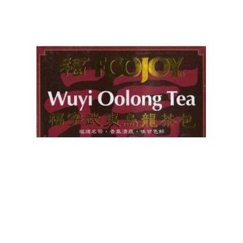 Foojoy Wuyi Oolong (Wu Long) Weight Loss Tea 25 Tea Bag Net Wt. 1.76oz by foojoy