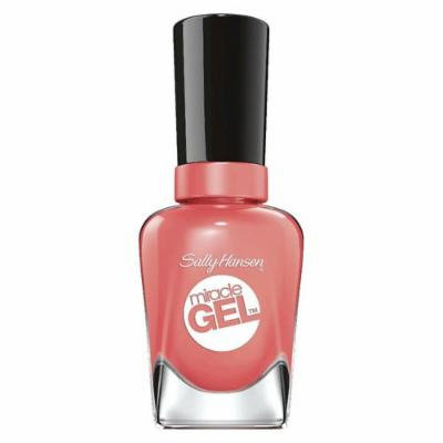 Malibu Peach Miracle Gel 0.5 Ounce Nail Polish (3 Pack)