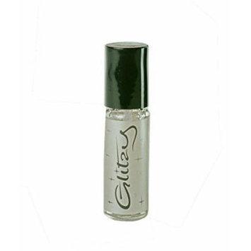 Lipcote Glitzy Glitter Lip Gloss Lipstick Sealer (Silver)