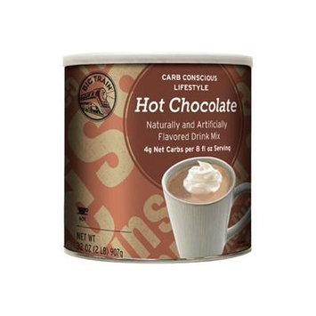 Big Train Low Carb Hot Chocolate, Two 2lb. Cans by Big Train