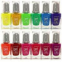 12pc Nabi Gel Nail Color Neon Nail Polish set of 12 color #NG15-80 by Nabi