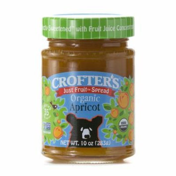 Crofters Organic Just Fruit Spread Apricot -- 10 oz by Crofter's