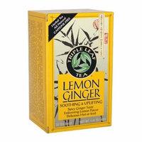 Triple Leaf Tea Ginger Tea-Bags, Lemon, 20 Count by Triple Leaf Tea
