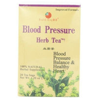 Health King Blood Pressure Herb Tea, Teabags, 20-Count Box (Pack of 4) by Health King