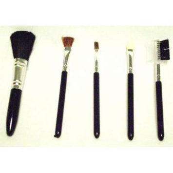COSMETIC BRUSHES 5 Pc Set Foundation Shadow Blush Eye Comb Makeup Make Up New by Greenbrier International, Inc.