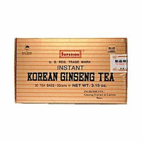 859322-Superior Instant Korean Ginseng Tea - 30 Tea Bags by Superior Trading Co.