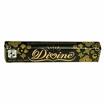 Divine Chocolate Bar - Dark Chocolate - Snack - 1.5 oz Bars - Case of 30