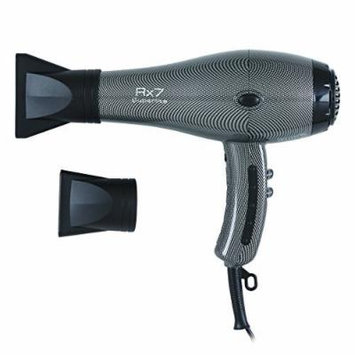 RX7 Superlite Ionic Tourmaline Hair Dryer, Silver, 56 Ounce by RX7 Superlite