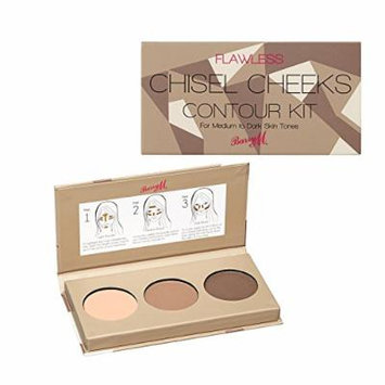 Barry M - Flawless Chisel Cheeks Contour Kit for Medium-Dark skin tones