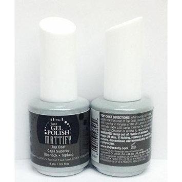 IBD Just Gel Polish, Mattify Top Coat, 0.5 Fluid Ounce by IBD