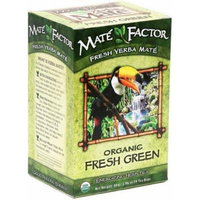 The Mate Factor Yerba Mate Energizing Herb Tea Bags, Organic Fresh Green, 24-Count Boxes (Pack of 3) by The Mate Factor