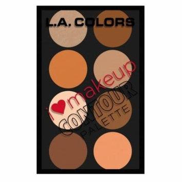 (3 Pack) L. A. COLORS I Heart Makeup Contour Palette - Medium To Deep