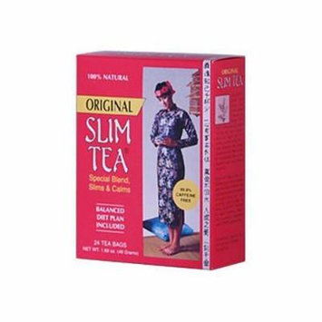Hobe Labs Slim Tea Original 24 Tea Bags by Hobe Labs