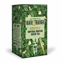Heath & Heather Organic Imperial Matcha Tea 20 Bags (Pack of 3)