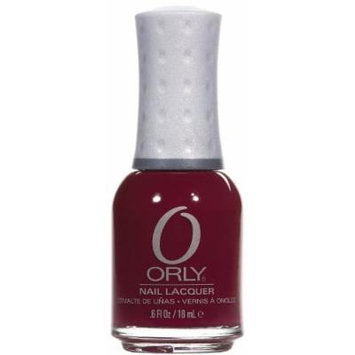Orly Nail Lacquer, Perfectly Plum, 0.6 Fluid Ounce by Orly
