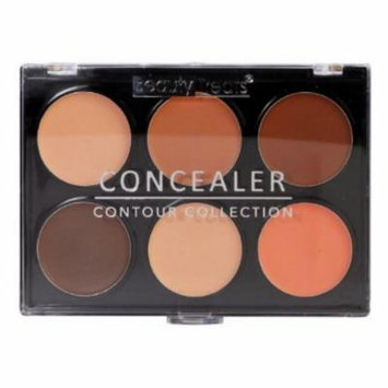(6 Pack) BEAUTY TREATS Concealer Contour Collection Dark